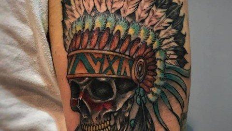 Corelli-Ligera-ink-tattoo-milano-tatuaggi-milano-teschio-indiano-tatuaggi-indiani