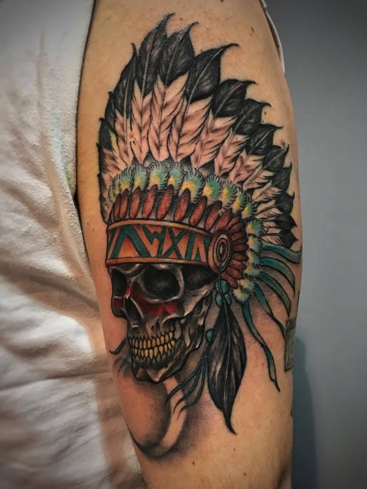 Tatuaggi Indiani Storia E Immagini Ligera Ink