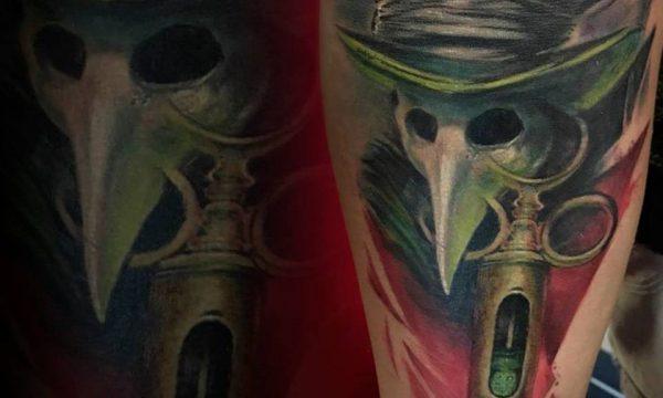 Massimo-PIazzetta-Tattoo-horror-Ligera-Ink-Studio-Tattoo-Milano tatuaggi Milano tatuaggio realistico realistic tattoo milano Tatuaggi Realistici Milano
