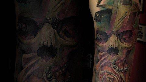 Massimo-PIazzetta-Tattoo-teschio2-kraken-Ligera-Ink-Studio-Tattoo-Milano-tatuaggi-Milano-tatuaggio-realistico-realistic-tattoo-milano-Tatuaggi-Realistici-Milano