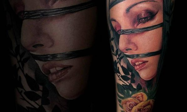 Massimo-PIazzetta-Tattoo-ritratto-donna-Ligera-Ink-Studio-Tattoo-Milano tatuaggi Milano tatuaggio realistico realistic tattoo milano Tatuaggi Realistici Milano