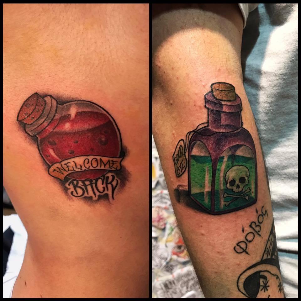 Catalogo Tattoo 2017 tatuaggi colorati:guida completa - ligera ink tattoo milano