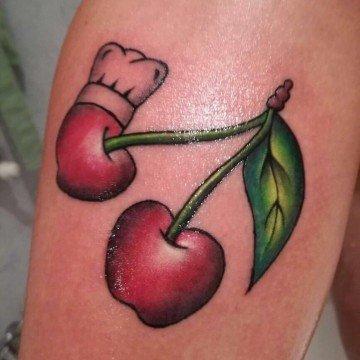 Ligera ink tattoo milano tatuaggio ciliegia tattoo ciliegia