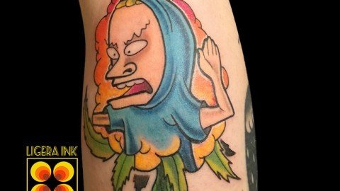 Ligera-Ink-tattoo-milano-tatuaggi-milano-tattoo-cartoon-milano-tatuaggi-cartoni-animati-milano-Beavis-and–butt-head
