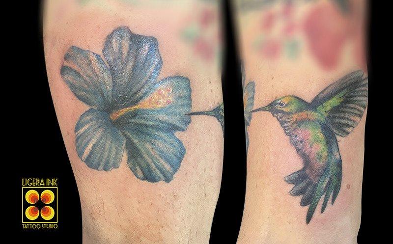 Ligera-ink-Tattoo-Milano-tatuaggio-Colibri-Tatuaggi-realistici-Milano-bravi-tatuatori-milano
