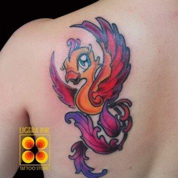 Ligera ink tattoo milano tatuaggi milano cartoon milano tatuaggi cartoni animati milano tattoo fenice tatuaggio fenice tatuatori milano tatuaggi new school tattoo new school