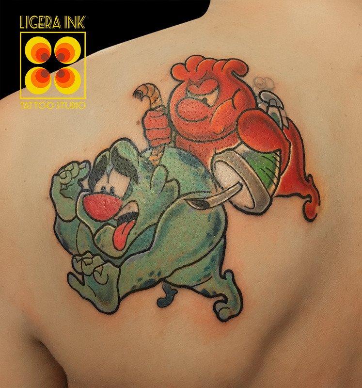 Ligera-ink-tattoo-milano-tatuaggio-milano-tatuatori-milano-tatuaggio-cartoon-milano-tattoo-cartoni-animati-milano-siamo-fatti-così