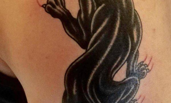 Phil Black Tattoo: pantera - Ligera Ink Studio Tattoo Milano-tattoo-milano-tatuaggio