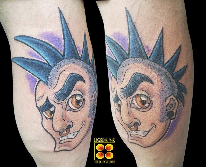 Ligera-ink-tattoo-milano-punk-tattoo-cartoon-tatuaggio-punk-cartoon-migliori-tatuatori-milano-bravi-bravo-tatuatore-milano-tattoo-studio-milano-tatuatori-milano