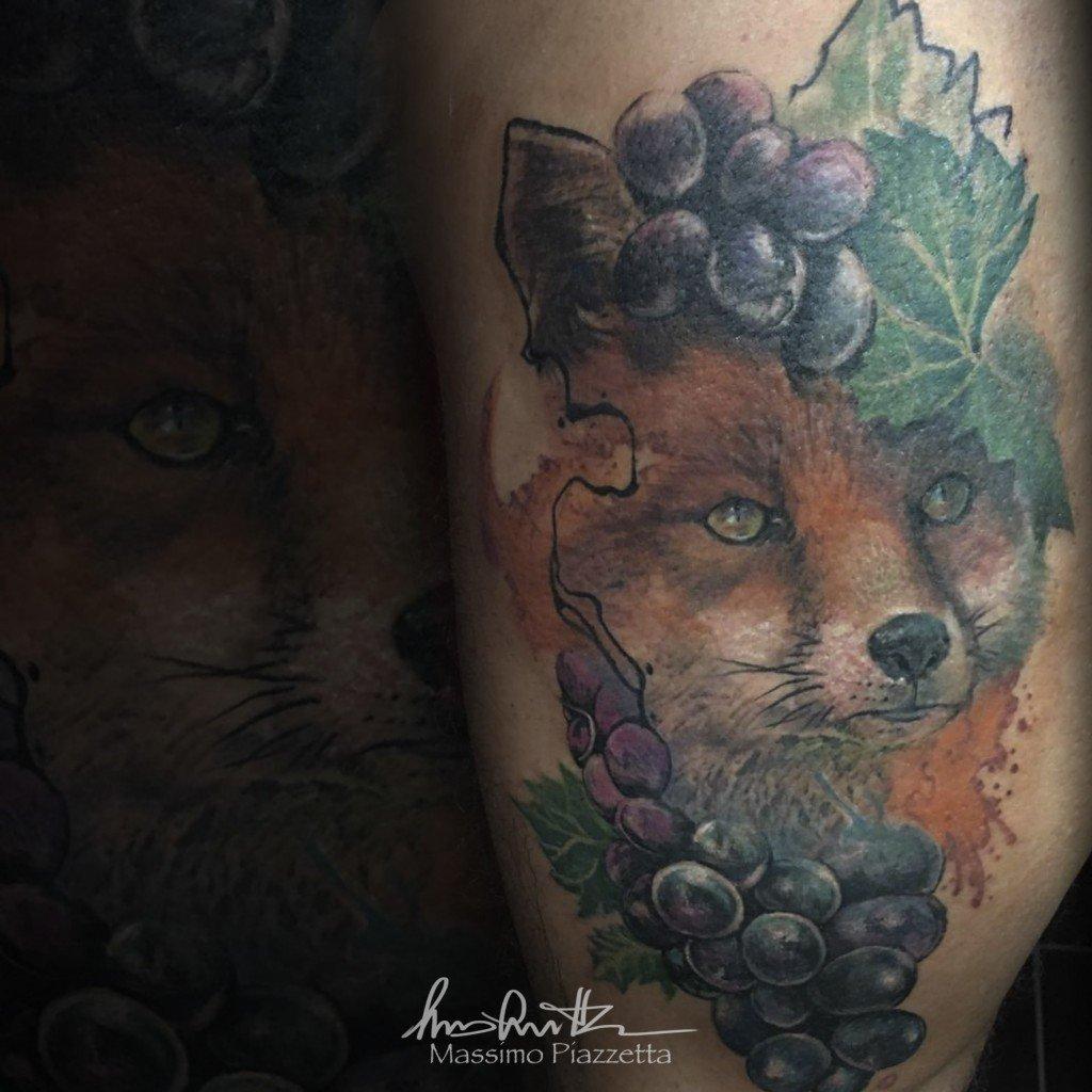 Massimo-PIazzetta-Tattoo-volpe-Ligera-Ink-Studio-Tattoo-Milano tatuaggi Milano tatuaggio realistico realistic tattoo milano Tatuaggi Realistici Milano