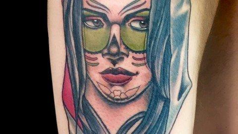 Ligera-Ink-Tattoo-Milano-santa-muerte-tattoo-calavera-tatuaggio-migliori-tatuatori-milano-new-traditional-tattoo