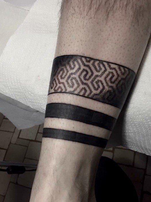 Eccezionale Tatuaggio fasce nere immagini e significato- Ligera Ink Tattoo Studio ZY57