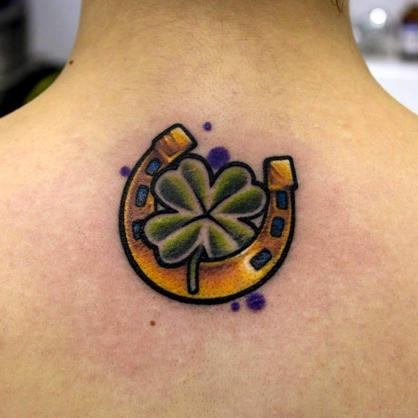 tatuaggio quadrifoglio tattoo quadrifoglio