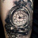 Tatuaggio orologio realistico tattoo orologio realistico TATTOO MILANO