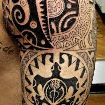 tartaruga maori tattoo tatuaggio tartaruga maori