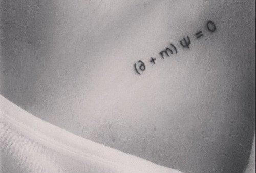 tatuaggi d'amore tattoo amore tatuaggio formula di dirac
