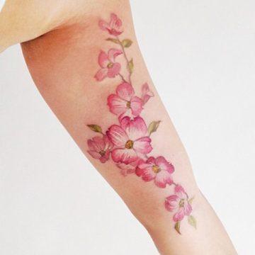 tatuaggio fiore di ciliegio tattoo fiore di ciliegio