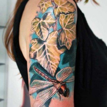 tatuaggio libellula tattoo libellula