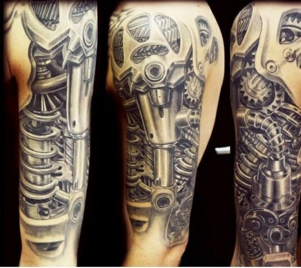 tatuaggi biomeccanici tattoo biomeccanici milano