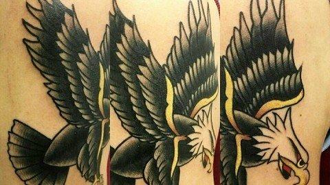 Ligera-Ink-tattoo-milano-tatuaggio-aquila-tradizionale-tatuaggio-old-school-tattoo