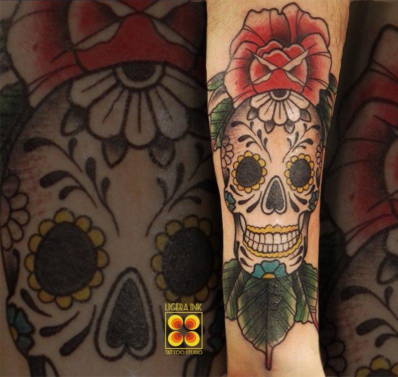 Ligera-ink-tattoo-milano-tatuaggi-milano-migliori-tatuatori-milano-tatuaggio-calavera-tattoo-calavera-tatuaggio-santa-muerte-tattoo-old-school-milano-tatuaggi-tradizionali-milano