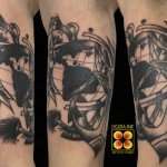 Ligera-Ink-tattoo-milano-tatuaggi-milano-miglior-tatuatore-milano-tatuaggio-tradizionale-tatuaggi-old-school-tatuaggio-ancora-tatuaggio-bussola