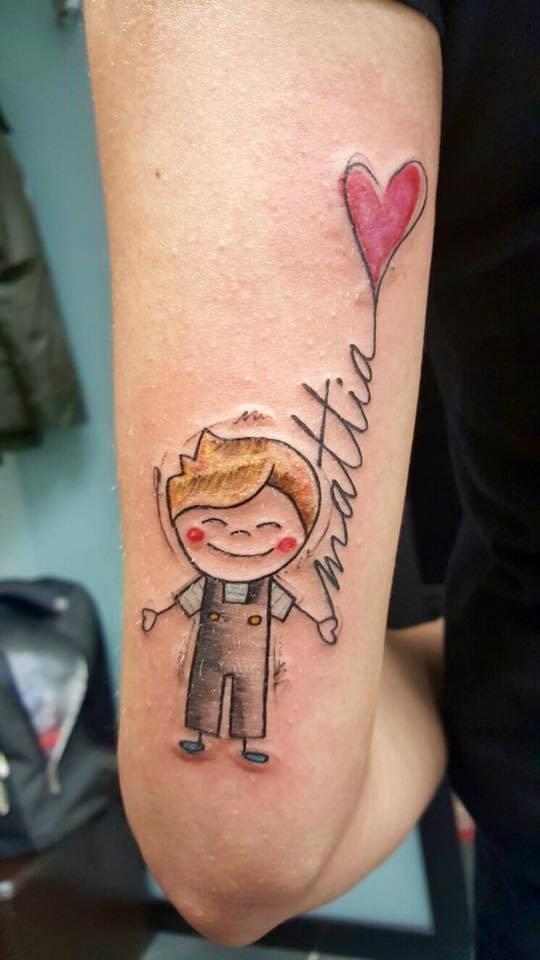 Tatuaggi Famiglia Idee E Immagini Ligera Ink