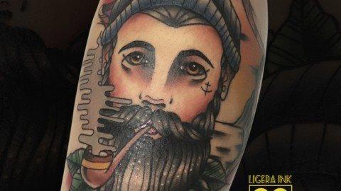 Ligera-ink-tattoo-milano-tatuaggi-milano-miglior-tatuatore-milano-tatuaggi-tradizionali-tatuaggi-old-school-tatuaggio-ritratto-marinaio