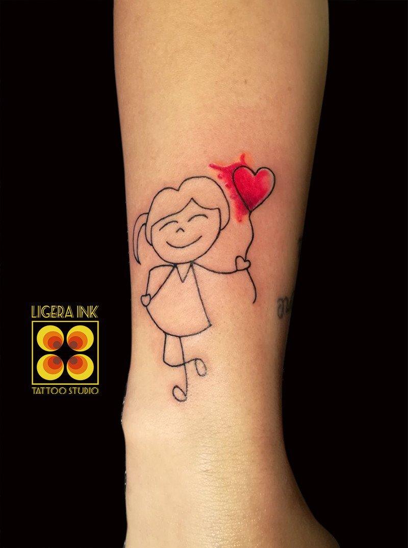 Tatuaggi famiglia albero genealogico