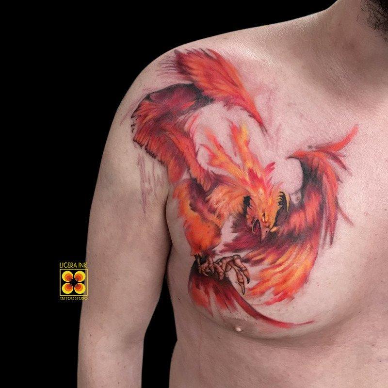 Ligera-ink-tattoo-milano-tatuaggi-milano-migliori-tatuatori-milano-tatuaggi-watercolor-milano-tattoo-watercolor-milano-tatuaggio-fenice-watercolor