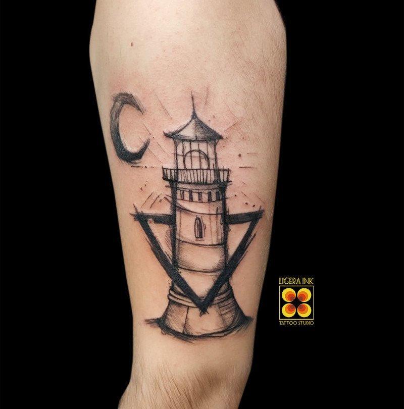 Ligera-ink-tattoo-milano-tatuaggi-milano-migliori-tatuatori-milano-tatuaggio-faro-tattoo-faro-scketch