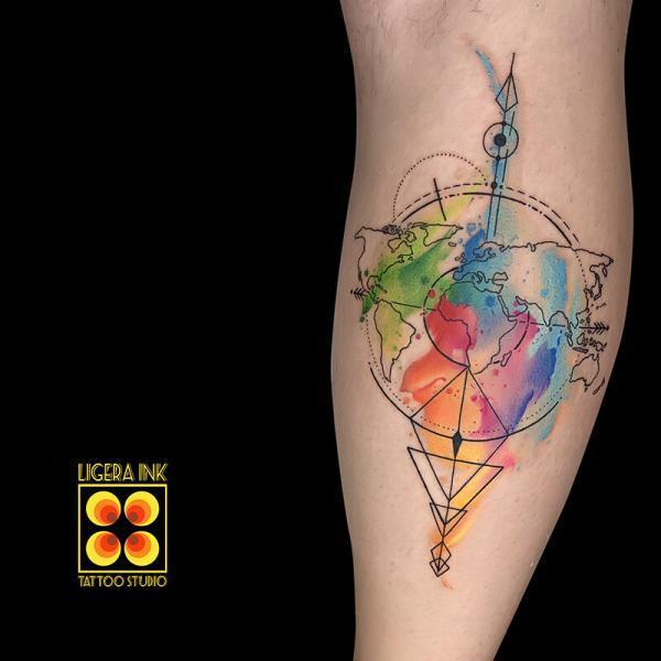 Ligera-ink-tattoo-milano-tatuaggi-milano-tatuatori-milano-tatuaggi-watercolor-milano-tattoo-watercolor-milano-cartina-mondo