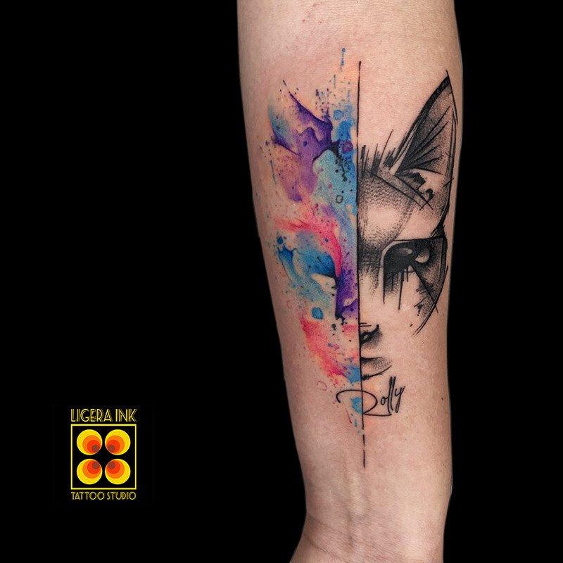 Ligera-ink-tattoo-milano-tatuaggi-milano-tatuatori-milano-tatuaggi-watercolor-milano-tattoo-watercolor-milano-gatto