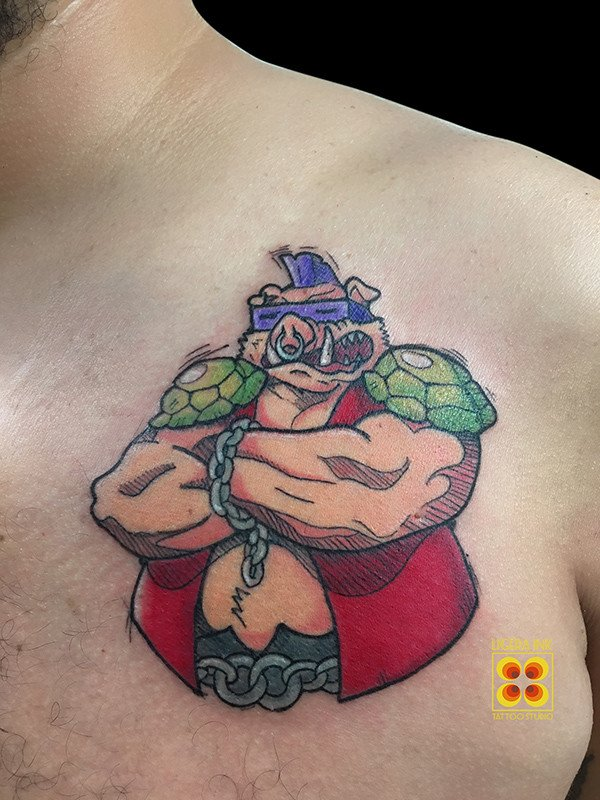Tatuaggi cartoni animati milano tattoo cartoon ligera