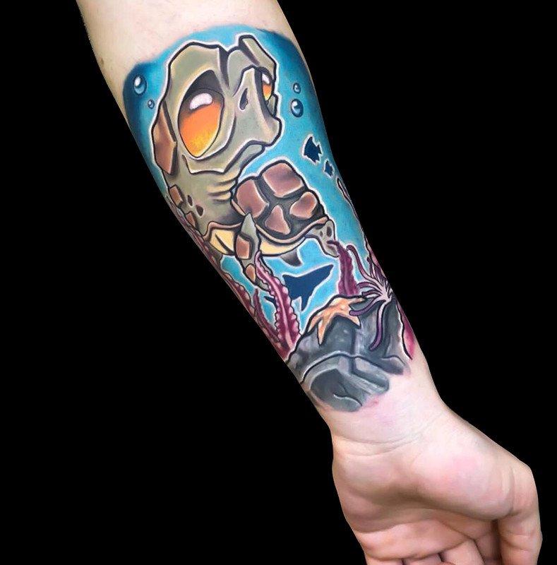Ligera-ink-tattoo-milano-tatuaggi-milano-migliori-tatuatori-milano-tatuaggi-newschool-milano-tatuaggio-tartaruga