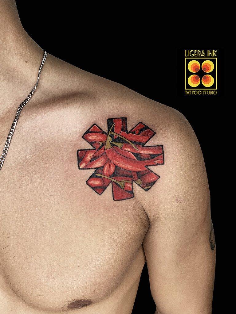 Ligera-ink-tattoo-milano-tatuaggi-milano-tatuatori-milano-tatuaggi-watercolor-milano-tattoo-watercolor-milano-cartoon-red-hot-chili-peppers